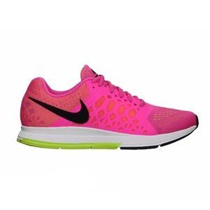 NIKE Hot Pink Neon Running Shoes Pegasus 31 7.5